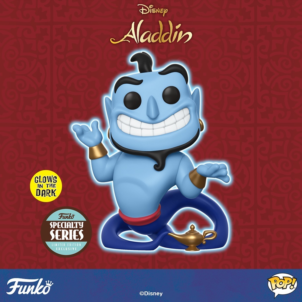 Funko POP Disney Aladdin Genie w/Lamp Glow in the Dark - #476